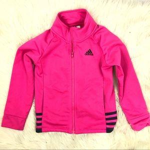 Adidas girl zipped sweatshirt!